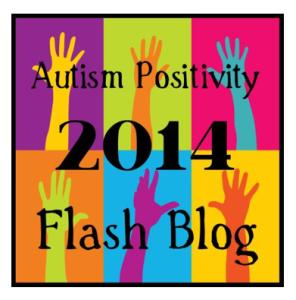 Autism Positivity 2014 Flash Blog logo